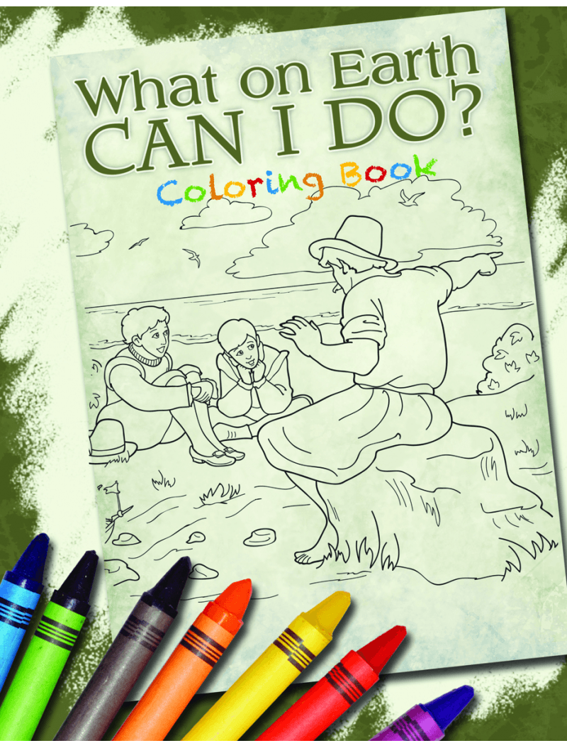 Apologia  What On Earth Can I Do  Coloring Book