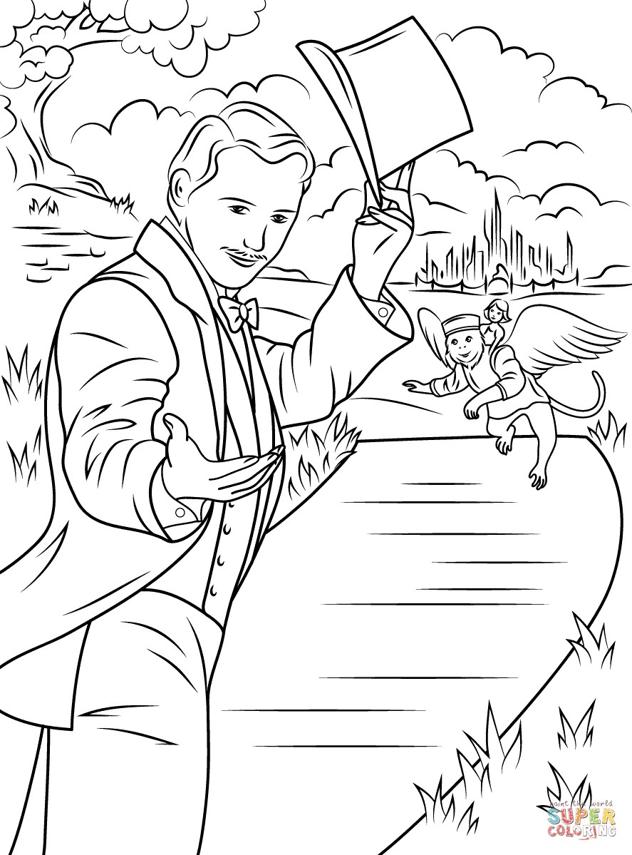 Glinda Good Witch Coloring Pages