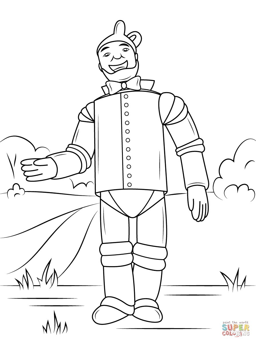 Dorothy With Glinda The Good Witch Of The North Coloring Pages