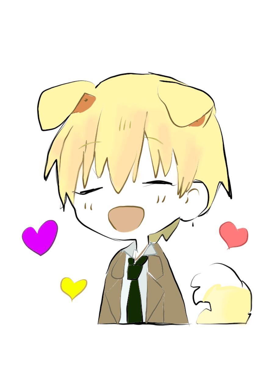 Anime Dog Boy