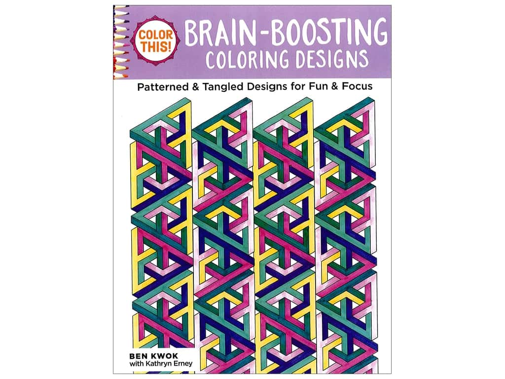 Brain Boosting Coloring Book