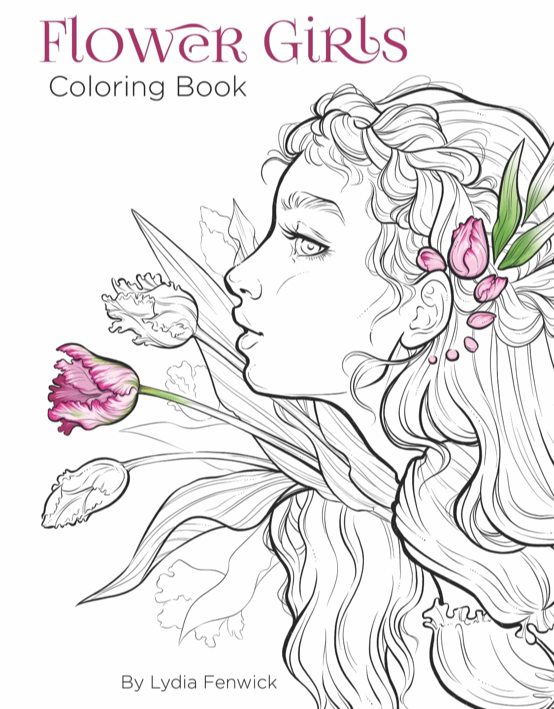 34 Drawing Coloring Book For Flower Girl For Free