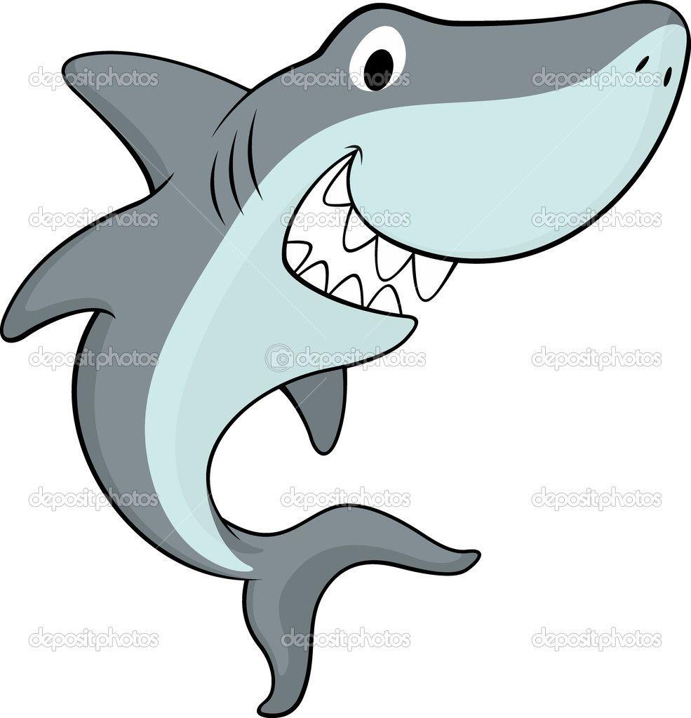 Dibujos De Tiburones Infantiles