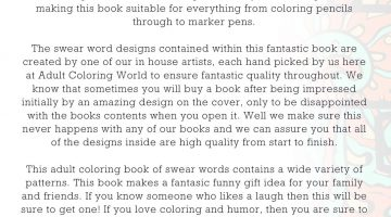 Swear Word Coloring Book 2
