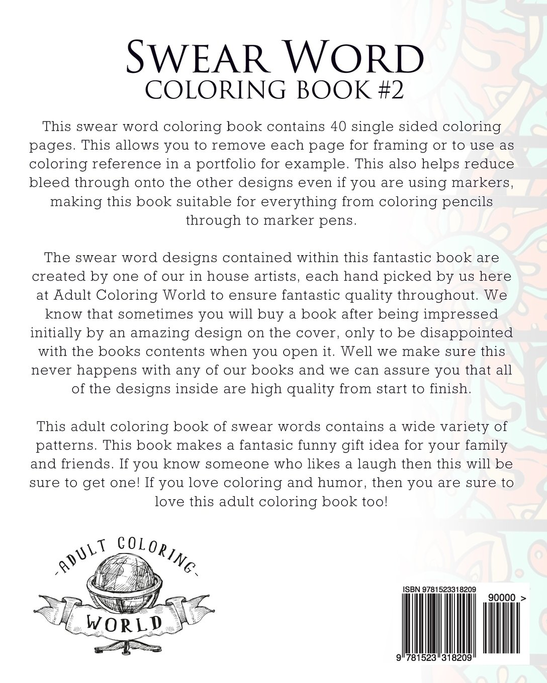 Amazon Com  Swear Word Coloring Book  2  An Adult Coloring Book Of
