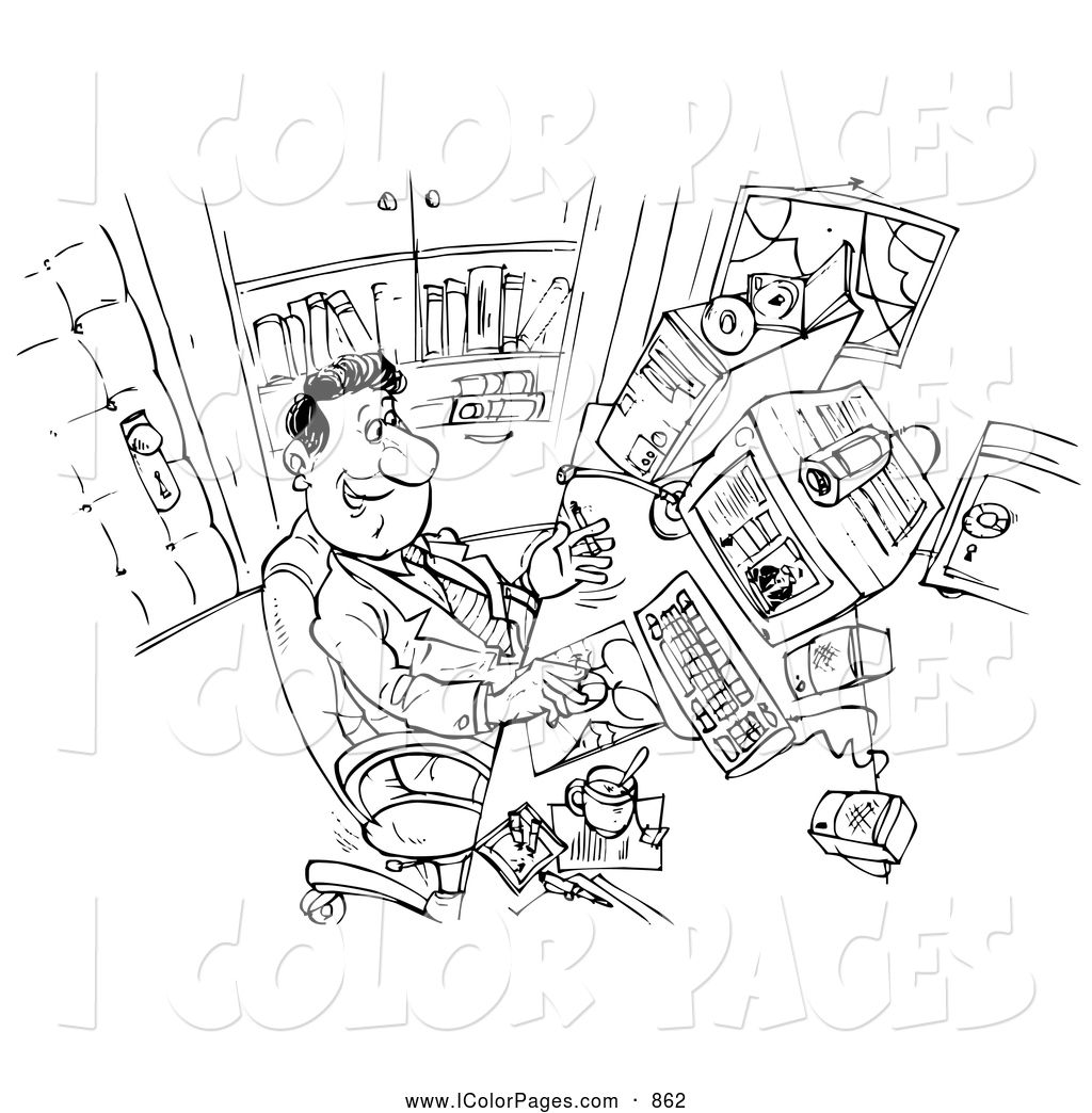 Sick Person Coloring Page Coloring Pages