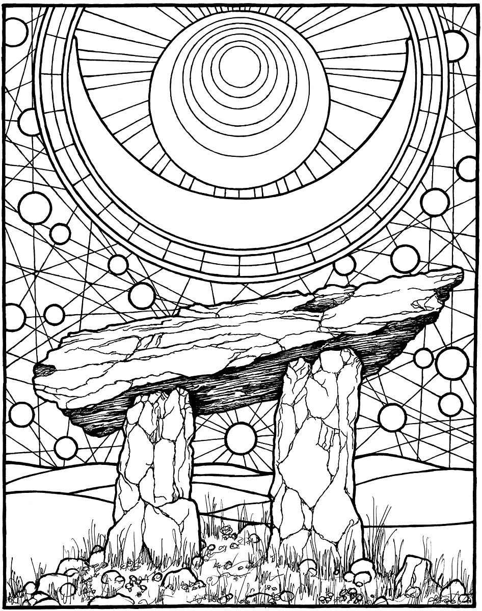 Adult Pagan Coloring Pages