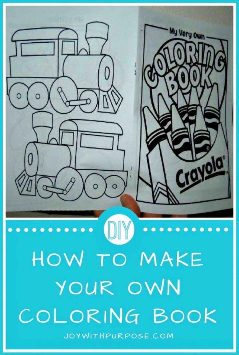 You Can Make Your Own Coloring Book