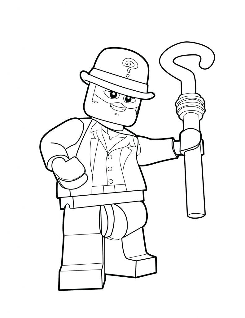 Pin By The Brick Show On Lego Dc Villains Coloring Pages