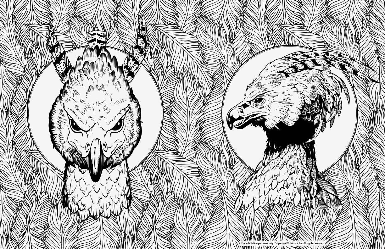Buckbeak Coloring Pages Awesome Verschiedene Bilder Färben Harry