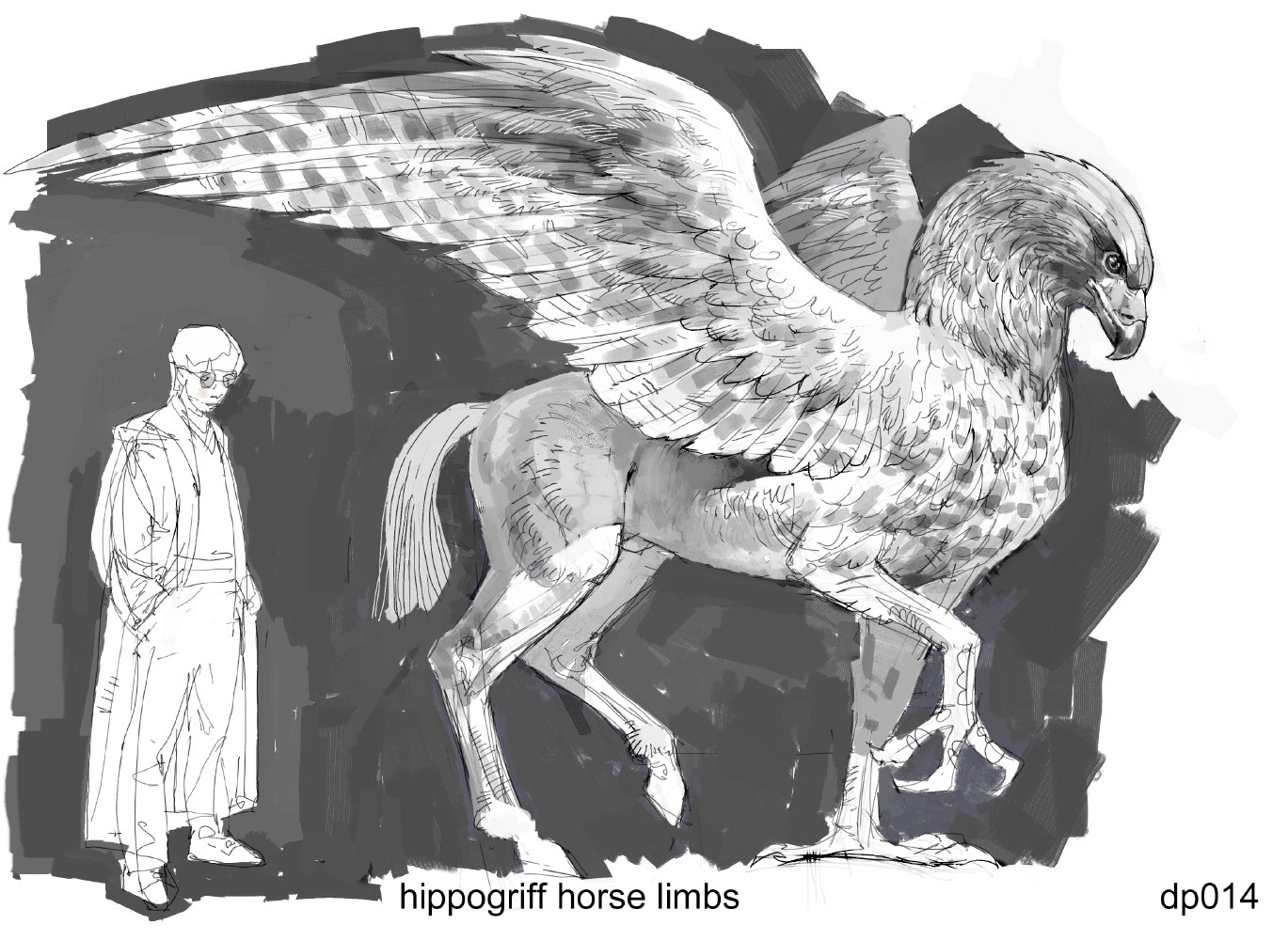 1 Buckbeak Drawing Prisoner Azkaban For Free Download On Ayoqq Org