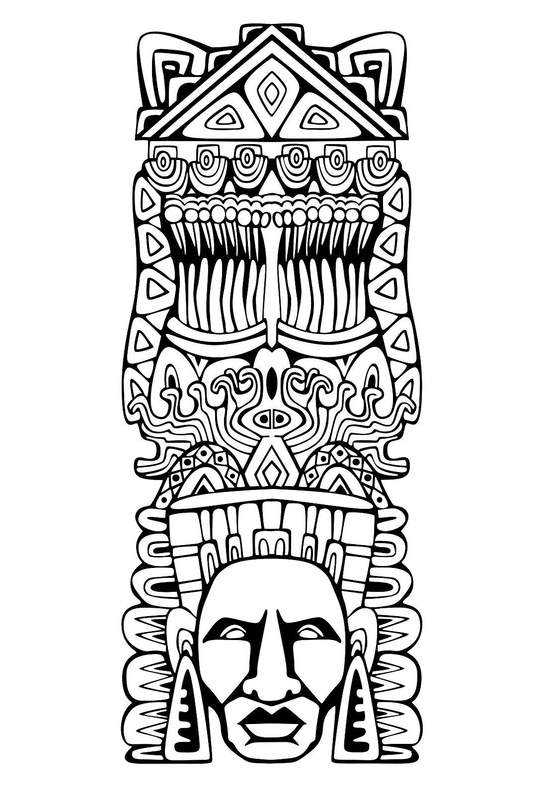 Totem Inspiration Inca Mayan Aztec 1