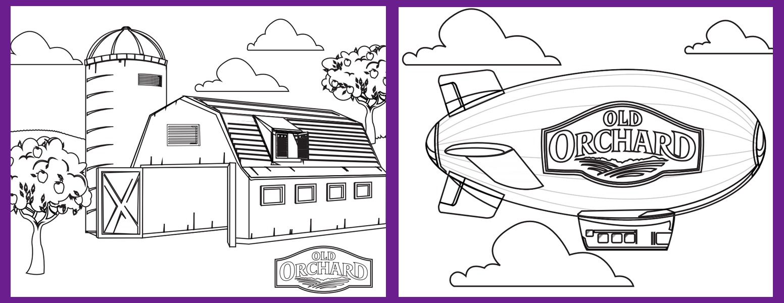 Old Orchard Creative Coloring Contest