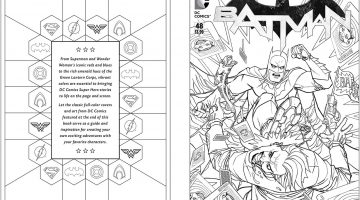 Dc Coloring Book