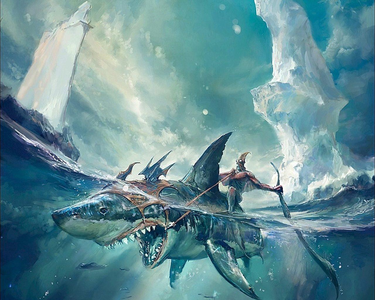 Dibujos De Tiburones    Imágenes Y Fotos