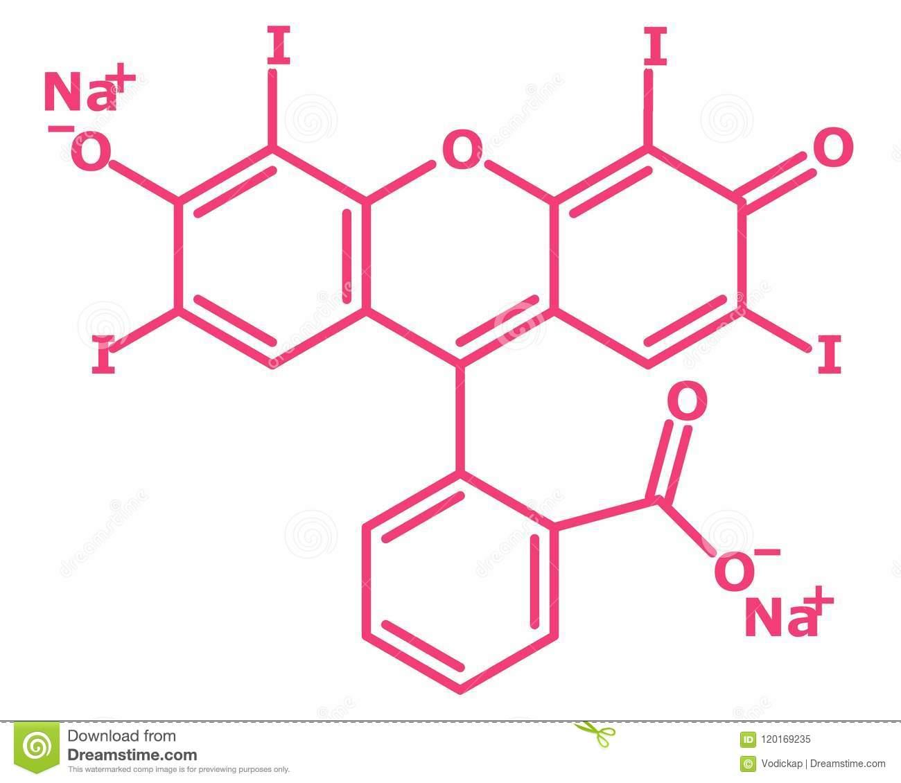 Erythrosine Formula