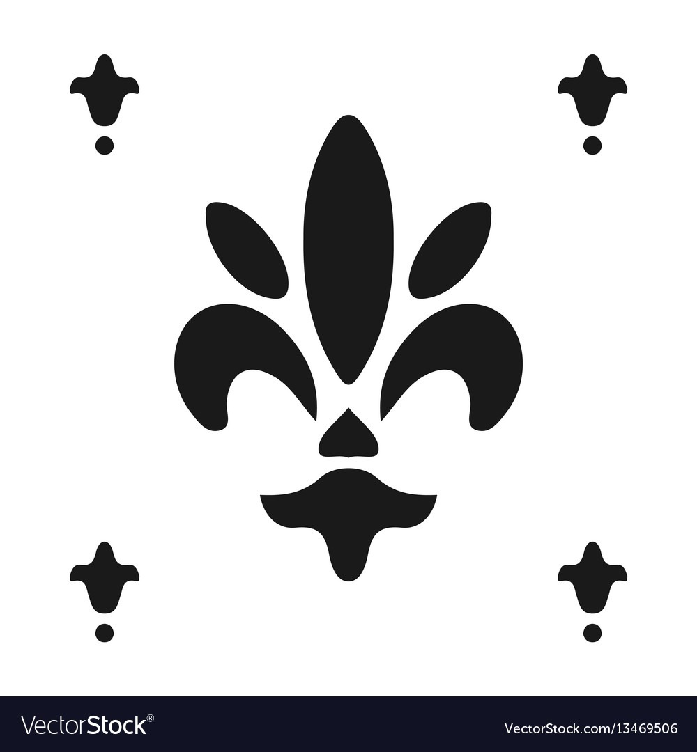 Fleur De Lis Symbol Silhouette