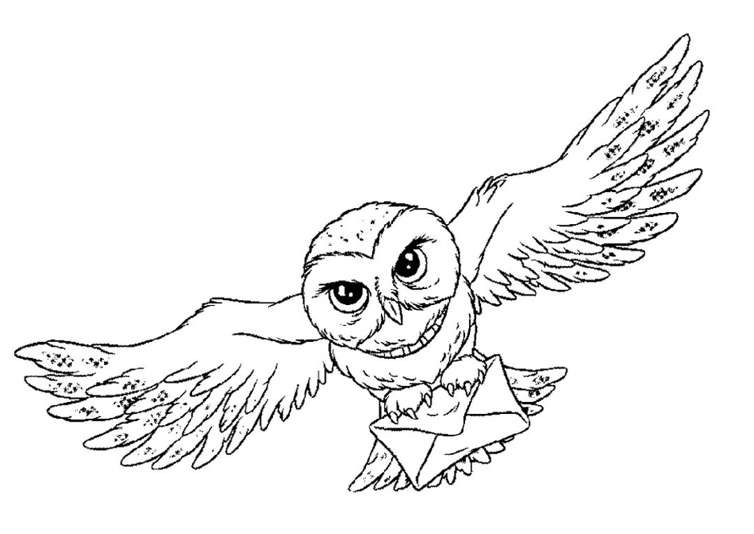 Buckbeak Coloring Pages