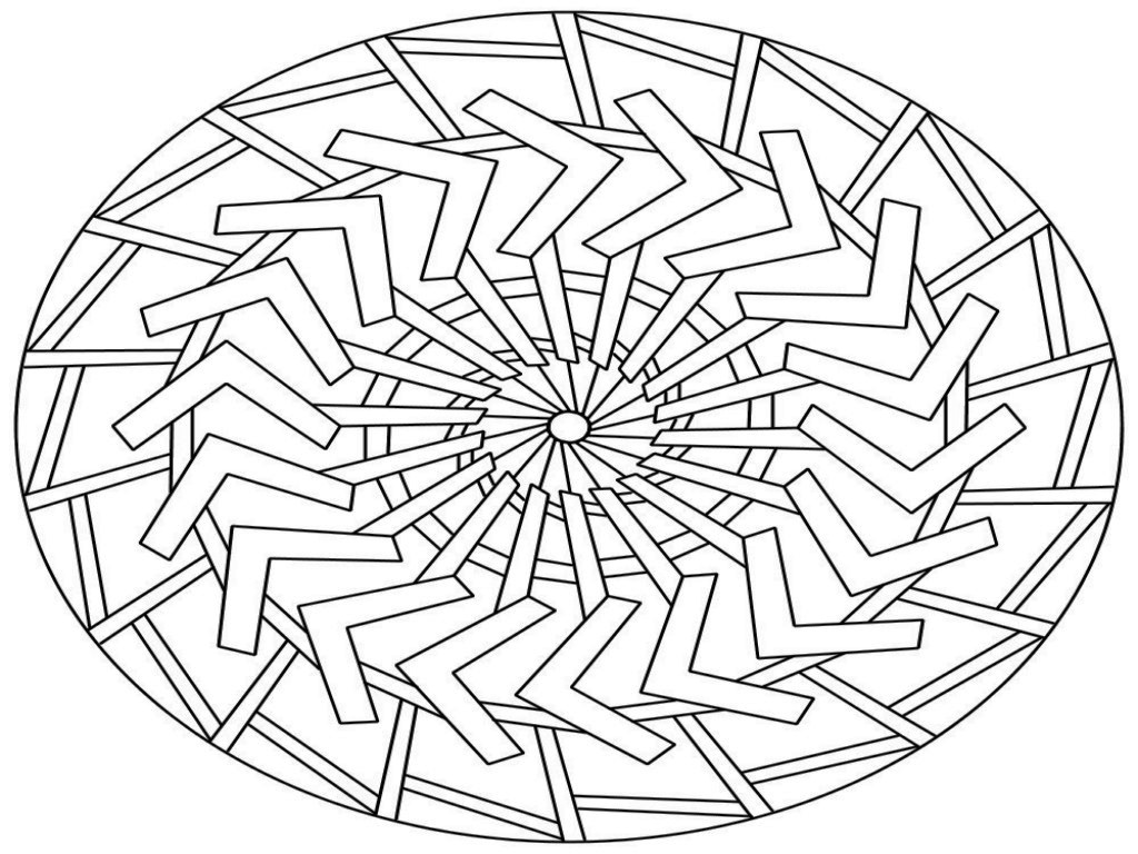 Free Mandalas To Print And Color — Classic Style   Free Mandala