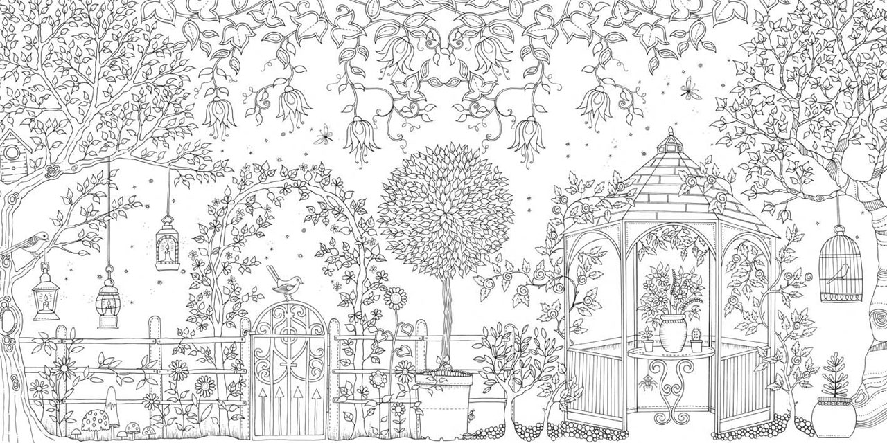 Garden Coloring Pages Page Adult Club 1280×640 Attachment