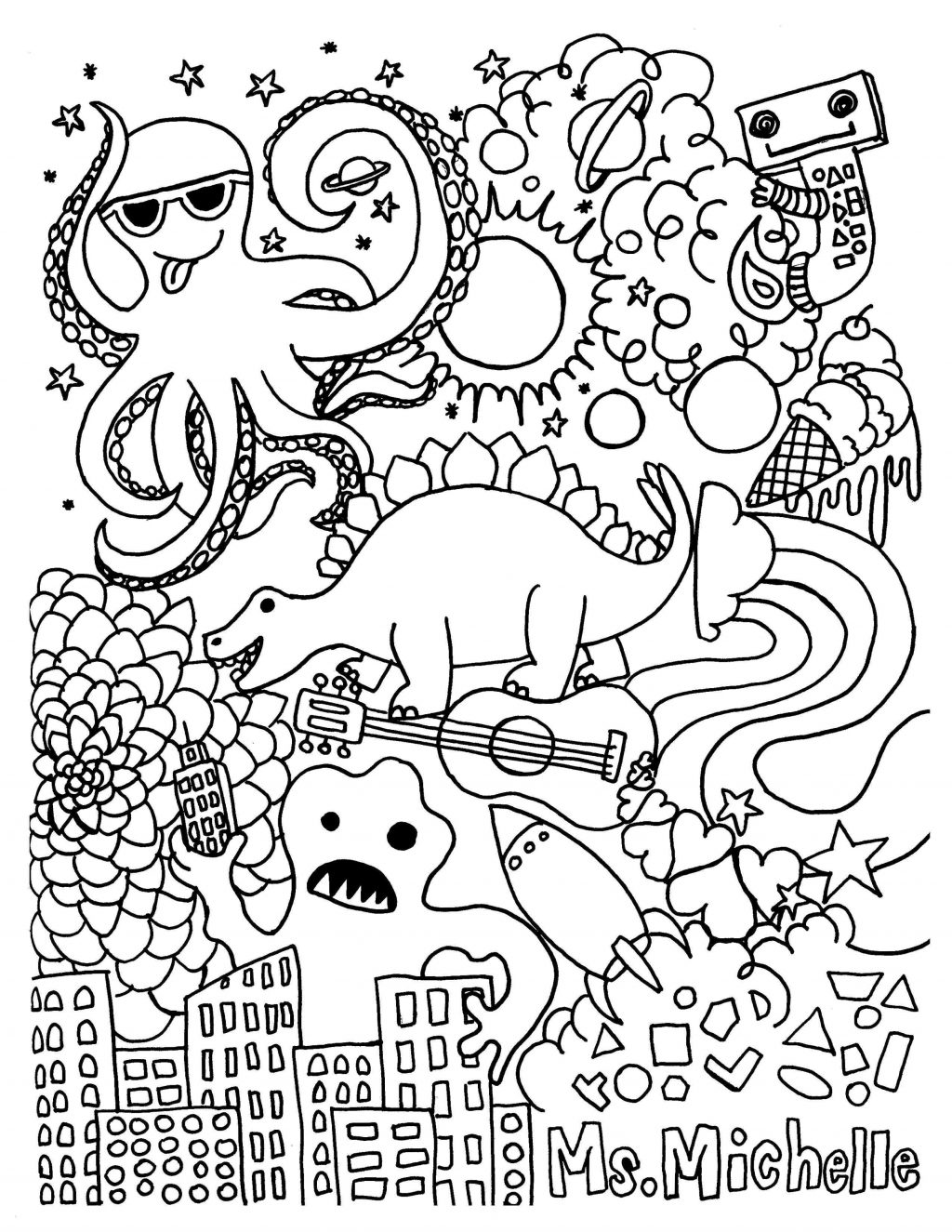 Coloring Page ~ Graffiti Coloring Pages Fresh Printable Adult