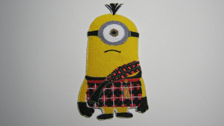 Despicable Me Scottish One Eyed Minion In Kilt Scotland