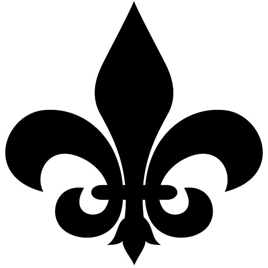 Free Fleur De Lis Stencil Pattern, Download Free Clip Art, Free