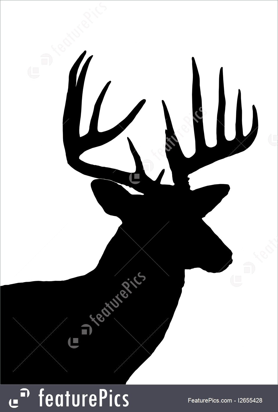 Kisspng White Tailed Deer Silhouette Clip Art Head 5ac1c8f509d714