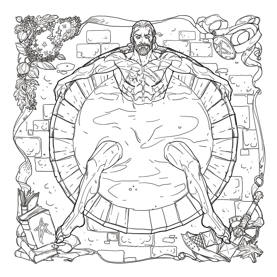 The Witcher Is Getting A Coloring Book For Adults And It Features