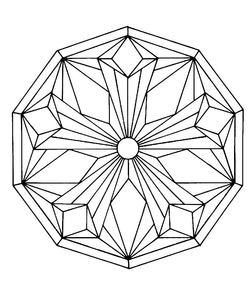Mandala To Color Free To Print 2