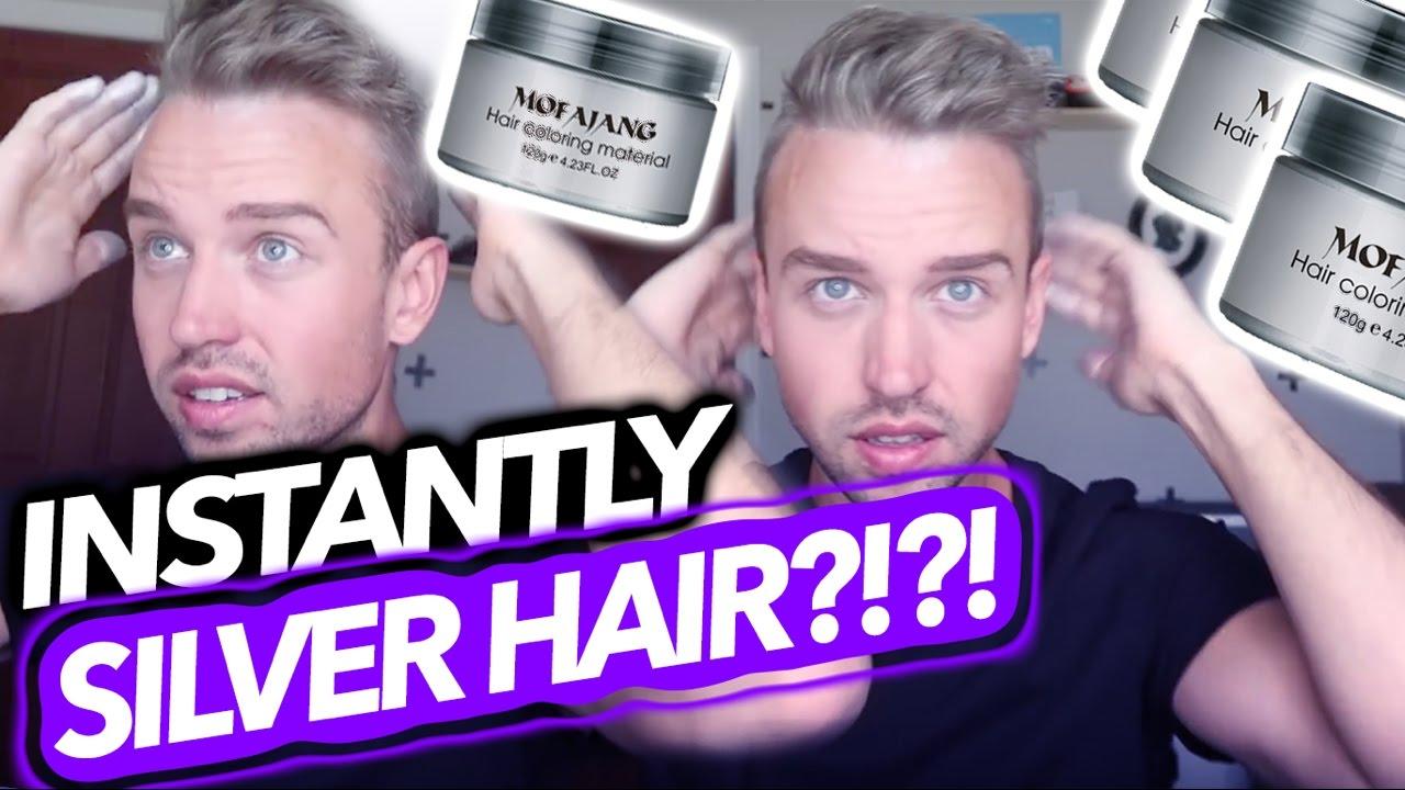 Silver Hair Without Dye !
