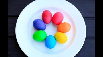Food Coloring Easter Eggs Recipe