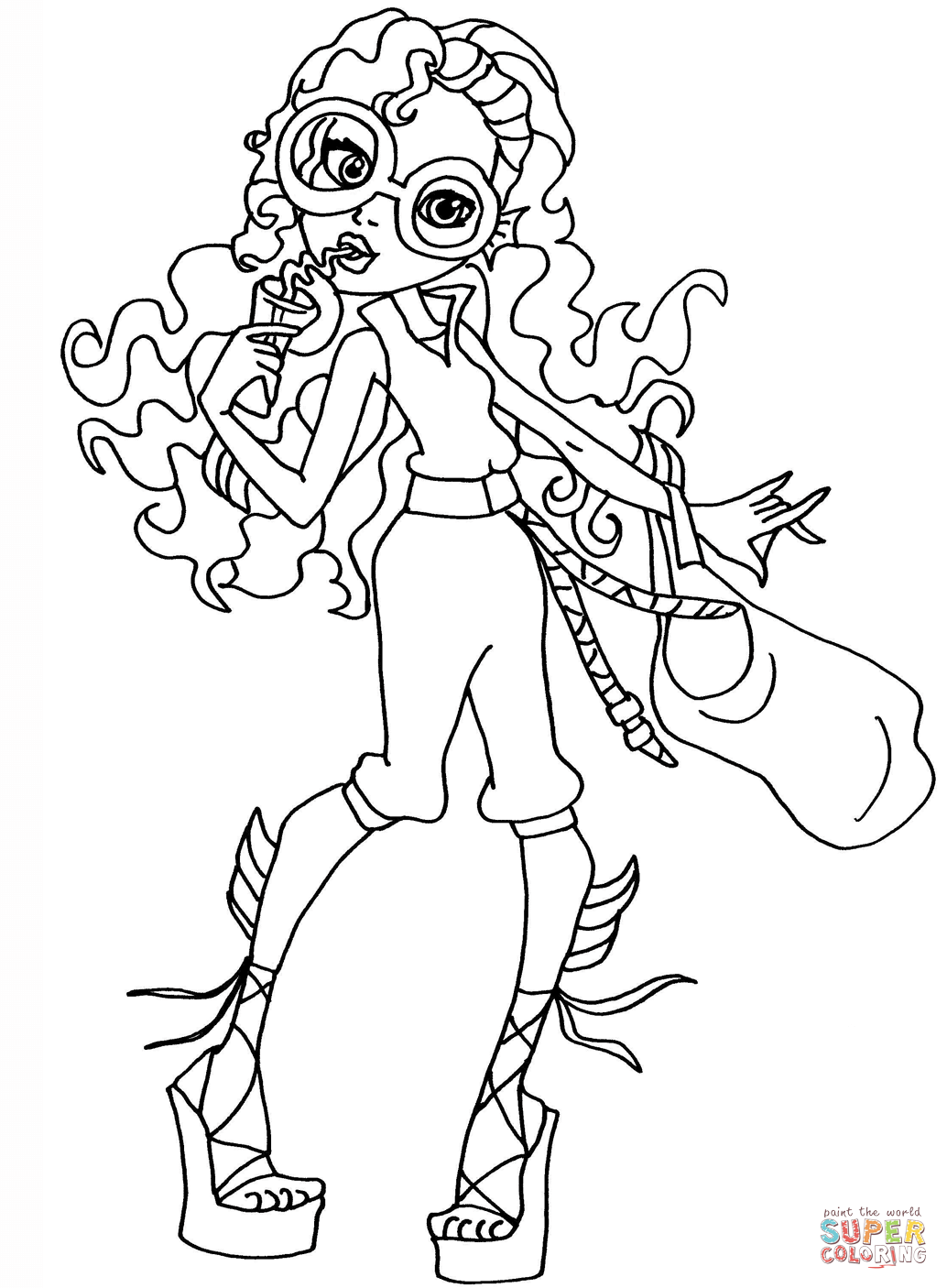 Lagoona Blue Coloring Pages
