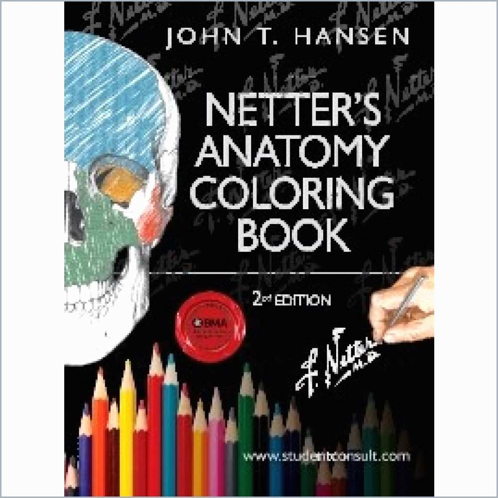 Netter Coloring Book Inspirational Anatomy Coloring Book Free