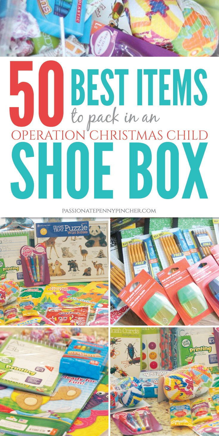50 Best Items To Pack In An Operation Christmas Child Shoebox