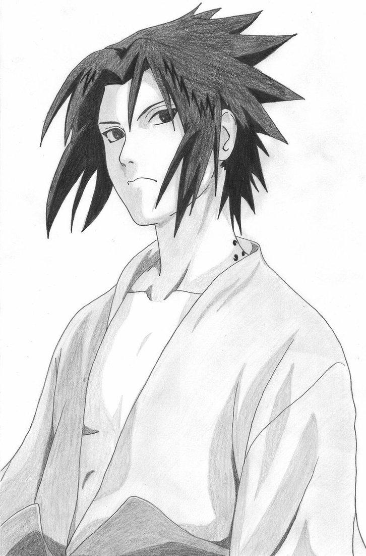 Sasuke Drawing Free Download On Ayoqq Org