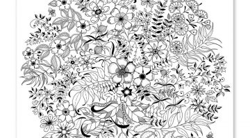 Secret Garden Coloring Book For Adults Pdf