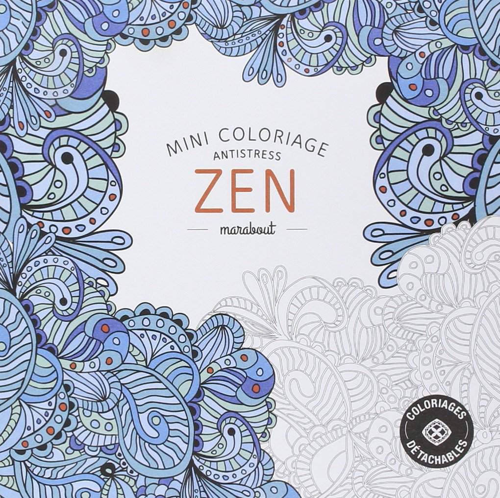 Coloring Page ~ Zen Coloring Book For Adults Girl In Floral Dress