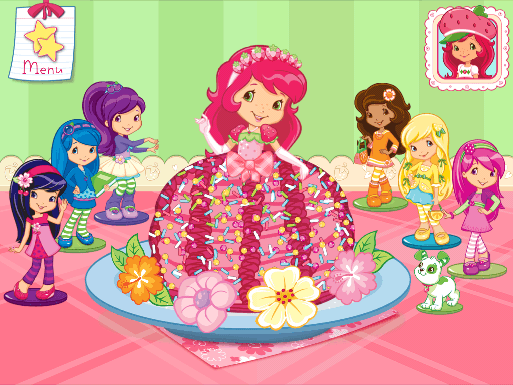 Strawberry Shortcake Princess Coloring Pages Free — Classic Style
