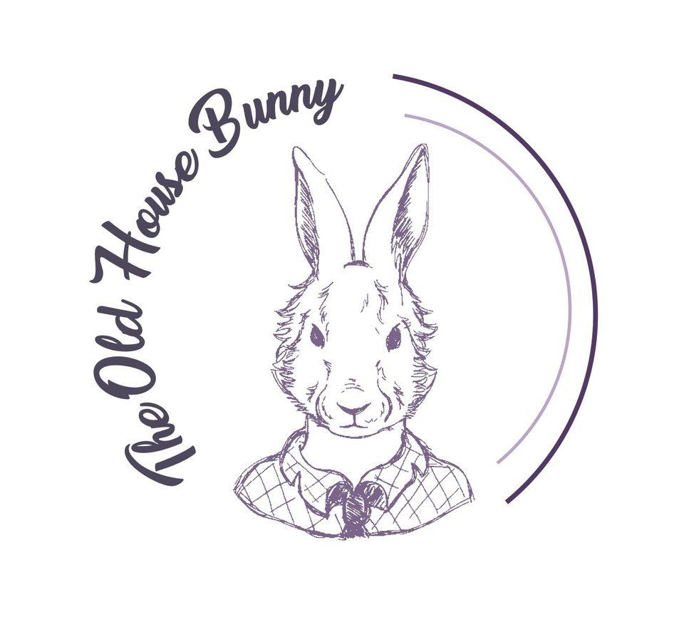 The Old House Bunny Logo, Custom & Professional Logo Design
