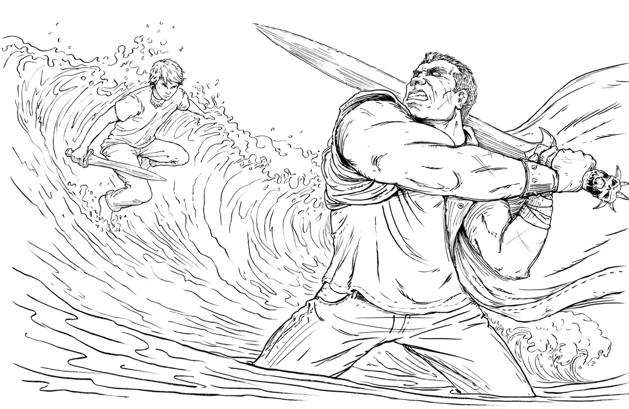 Weird Coloring Pages Percy Jackson Coloringsuite Com Inside 42999